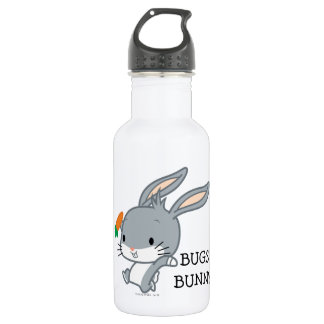 Chibi BUGS BUNNY™ With Carrot Stainless Steel Water Bottle