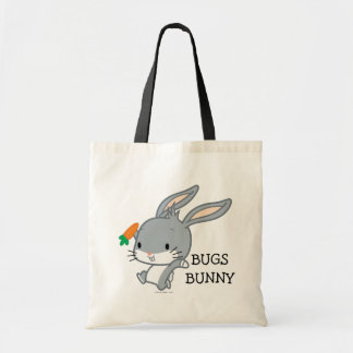 Chibi BUGS BUNNY™ With Carrot Tote Bag