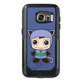 Chibi Cat Woman OtterBox Samsung Galaxy S7 Case