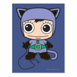 Chibi Cat Woman Post Card
