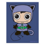 Chibi Cat Woman Print