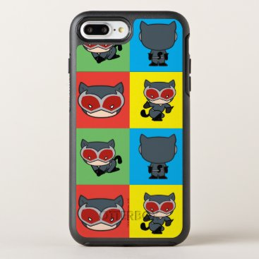 Chibi Catwoman Character Poses OtterBox Symmetry iPhone 8 Plus/7 Plus Case