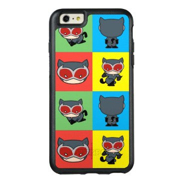 Chibi Catwoman Character Poses OtterBox iPhone 6/6s Plus Case