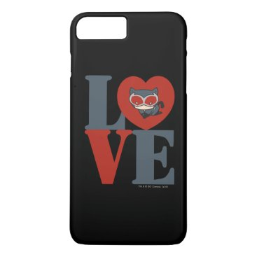 Chibi Catwoman LOVE iPhone 8 Plus/7 Plus Case