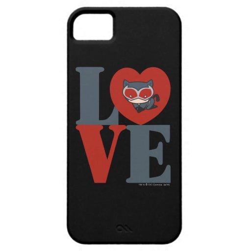 Chibi Catwoman LOVE iPhone SE/5/5s Case