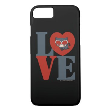 Chibi Catwoman LOVE iPhone 8/7 Case