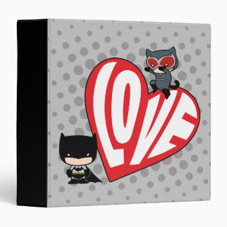 Chibi Catwoman Pounce on Batman Binder