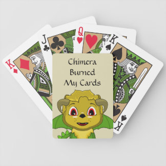 Chibi Chimera Bicycle Playing Cards