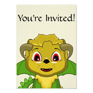 Chibi Chimera 5x7 Paper Invitation Card