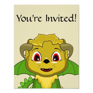 Chibi Chimera 4.25x5.5 Paper Invitation Card