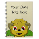 Chibi Chimera Spiral Notebooks