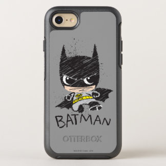 Chibi Classic Batman Sketch OtterBox Symmetry iPhone 7 Case