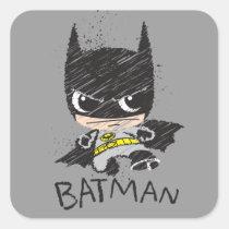 chibi justice league, justice league, chibi batman, chibi superman, chibi flash, classic batman, flash, superman, chibi sketch, justice league sketch, crayon, marker, paint, paint splatter, child drawing, kid, cute, kawaii, adorable, super hero, superhero, cartoon, drawing, Sticker with custom graphic design