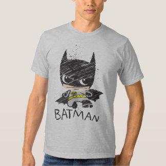 Chibi Classic Batman Sketch Tee Shirt