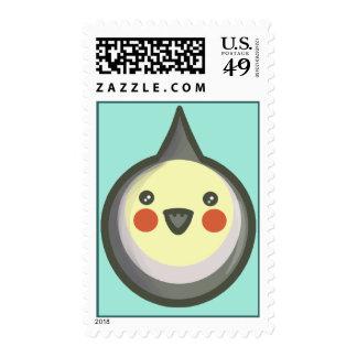 Chibi Cockatiel Stamp