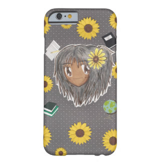 Chibi Colleg/Background Hinata iPhone 6 Barely There iPhone 6 Case