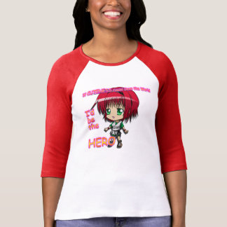 """Chibi Cutie Hero """"If Cuteness Could Save the World T-Shirt"""
