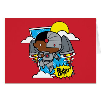 Chibi Cyborg Blast Off! Card