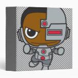 Chibi Cyborg Vinyl Binders