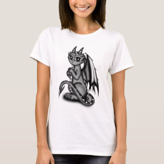 Chibi Dragon grey T-Shirt