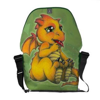 Chibi Dragon Messenger Bag