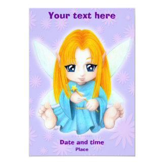 Chibi Faery Card