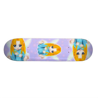 Chibi Faery Custom Skate Board