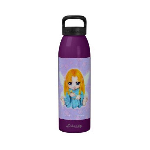 Chibi Faery Reusable Water Bottle