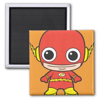 Chibi Flash 2 Inch Square Magnet