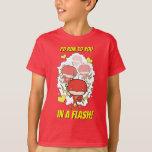 Chibi Flash - I'd Run To You In A Flash Valentine T-Shirt