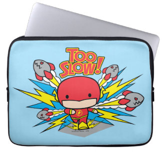 Chibi Flash Outrunning Rockets Laptop Computer Sleeves