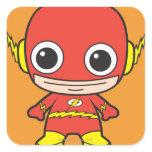 Chibi Flash Square Sticker