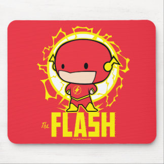 Chibi Flash With Electricity Mouse Pad