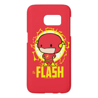 Chibi Flash With Electricity Samsung Galaxy S7 Case