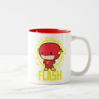 Chibi Flash With Electricity Two-Tone Coffee Mug