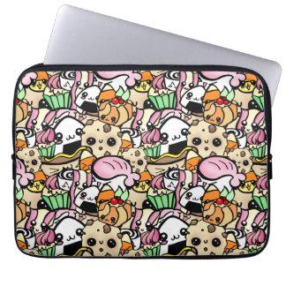 Chibi Food Laptop Sleeve