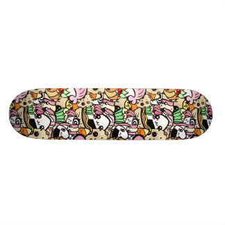 Chibi Food Skate Board Deck