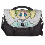 Chibi Frog Princess Laptop Commuter Bag
