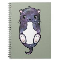 Chibi Galaxy Otter Notebook