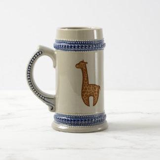 Chibi Giraffes Beer Stein