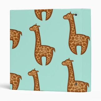 Chibi Giraffes Binder