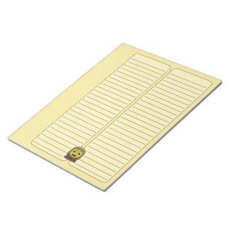 Chibi Golden Sphinx Note Pad