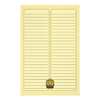 Chibi Golden Sphinx Customized Stationery