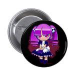 Chibi Goth Button