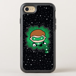 Chibi Green Lantern Flying Through Space OtterBox Symmetry iPhone 7 Case