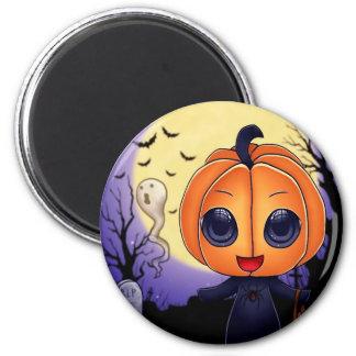Chibi Halloween Refrigerator Magnets