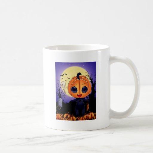 Chibi Halloween Taza De Café