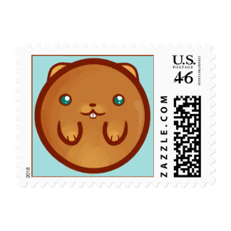 Chibi Hamster Postage Stamps