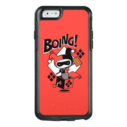Chibi Harley-Quinn-In-A-Box With Hammer OtterBox iPhone 6/6s Case