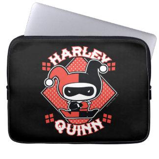 Chibi Harley Quinn Splits Computer Sleeve